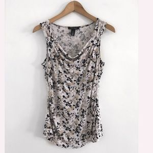 White House Black Market Sleeveless Top Blouse M